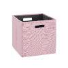 This item: Liam Pink Storage Bin, Pack of 2