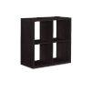 This item: Ellis Espresso Four Cubby Storage Cabinet