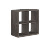 This item: Ellis Grey Four Cubby Storage Cabinet