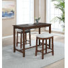 This item: Ian Rustic Brown 36-Inch Counter Height Pub Table
