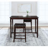 This item: Noah Manhattan Walnut 36-Inch Counter Height Pub Table