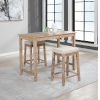 This item: Ian Distressed Brown 36-Inch Counter Height Pub Table