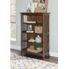 This item: Reese Cappuccino Double Bookcase