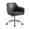 This item: Rylen Charcoal and Silver Office Chair