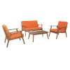This item: Cole Outdoor Chat Set