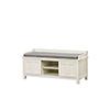 This item: Lakeville Antique White Storage Bench