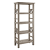 This item: Titian Rustic Gray Bookcase