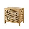 This item: Bracken Natural Bamboo Bathroom Hamper