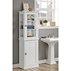 This item: Scarsdale White Bathroom Tall Cabinet