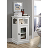This item: Scarsdale White Bathroom Demi Cabinet