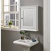 This item: Lorenzo White Bathroom Medicine Cabinet