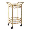 This item: Cameron Round Bar Cart