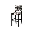 This item: Clayton Black Cow 30-Inch Bar Stool