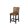 This item: Miller Distressed Brown 24-Inch Counter Stool