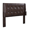 This item: Lenna Sable Upholstered Full/Queen Headboard