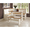This item: Ardmore White and Natural Nook