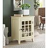 This item: Leslie Pale Yellow Single Door Cabinet