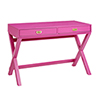 This item: Paige Raspberry Pink Writing Desk