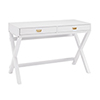 This item: Paige White Writing Desk