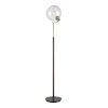 This item: Collective Oil Rubbed Bronze, Antique Brass and Clear 11-Inch Floor Lamp