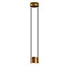 This item: Impulse Gold Leaf and Black Integrated LED Mini Pendant