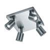 This item: Cayman Matte Nickel 8-Inch LED Spot Light