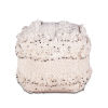 This item: Algiers White Square Ottoman with Sequins