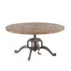 This item: Artezia Weathered Teak and Gun Metal Coffee Table
