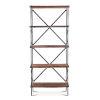 This item: Blayne Brown 78-Inch Tall Bookshelf