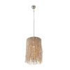 This item: Bali Nickel One-Light Round Pendant