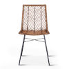 This item: Bali Brown Honey Washed Dining Chair, Set of 2