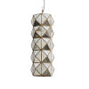 This item: Bali Antique Brass One-Light 24-Inch Pendant