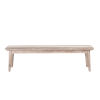 This item: Newport Whitewash and Weathered Gray Bench