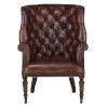 This item: Charles Oak Brown Armchair