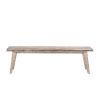 This item: Beachwood Weathered Graywash 16-Inch Dining Bench