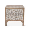 This item: Haveli White and Natural Night Chest