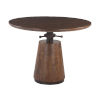 This item: Amici Walnut and Antique Zinc Dining Table