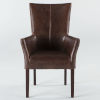 This item: Jaden Dark Walnut Armchair