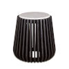 This item: Lisbon Brown and White Side Table with Marble Top