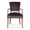 This item: Portia Dark Gray Armchair