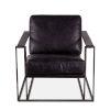 This item: Portlando Black Armchair