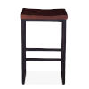 This item: Amici Brown Counter Stool