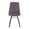 This item: Posey Matte Gunmetal Side Chair, Set of Two