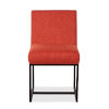 This item: Rebel Orange and Antique Zinc Dining Chair, Set of Two