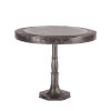 This item: Welles Natural Patina 36-Inch Round Marble Dining Table