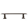 This item: Toulon Vintage Brown 96-Inch Bench