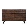 This item: Bruges Dark Brown and Antique Zinc Dresser