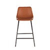 This item: Tan Faux Leather Counter Height Stool- Set of Two