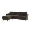 This item: Warren Coffee Sectional Sofa with Curved Arms