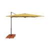 This item: Skye Lemon Square 8.6-Sq Feet Cantilever Umbrella